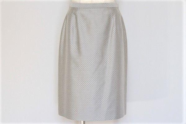 タルボット シルク混タイトスカート