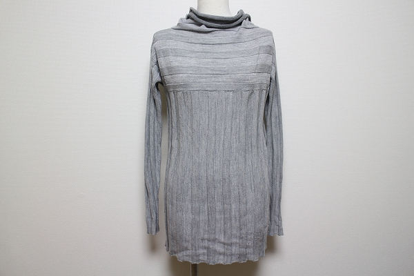 MARELLA タートルリブニットセーター