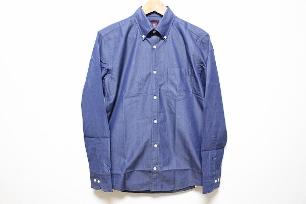 タケオキクチ 長袖ボタンダウンシャツ