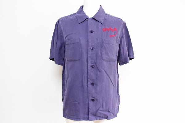 ヒステリックグラマーニューヨークドールズ 刺繍半袖シャツ