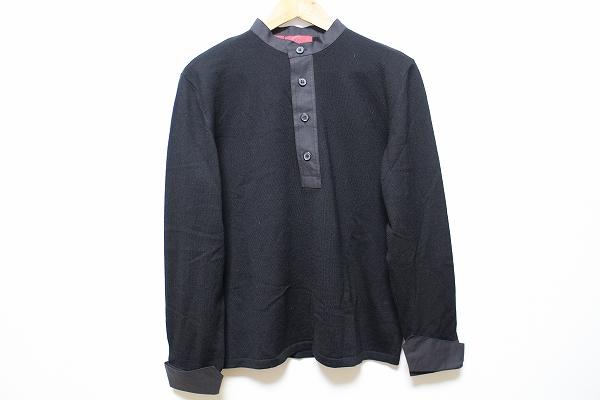 ヒューゴボス 長袖ニットシャツ