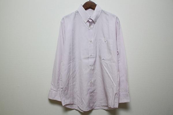 パパス コットン長袖シャツ