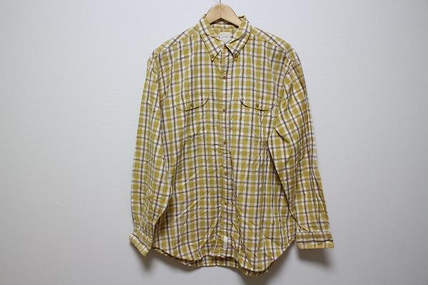 カールヘルム コットンチェックシャツ