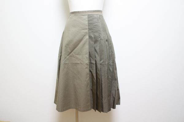 ネロセンソユニコ アシンメトリープリーツスカート
