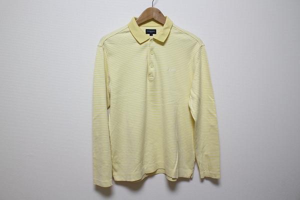 バーバリーゴルフ 長袖ポロシャツ