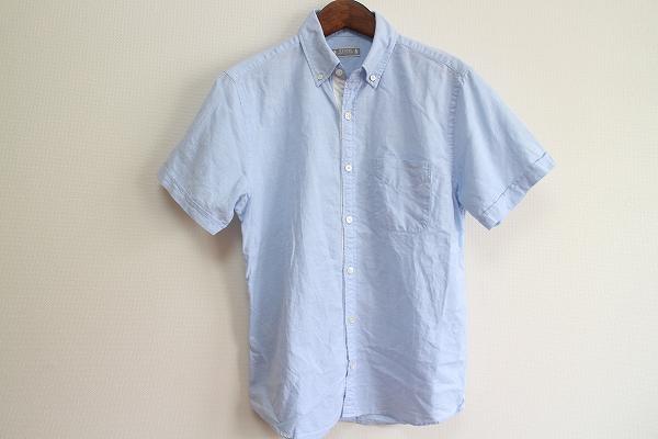 ビームス 半袖ボタンダウンシャツ