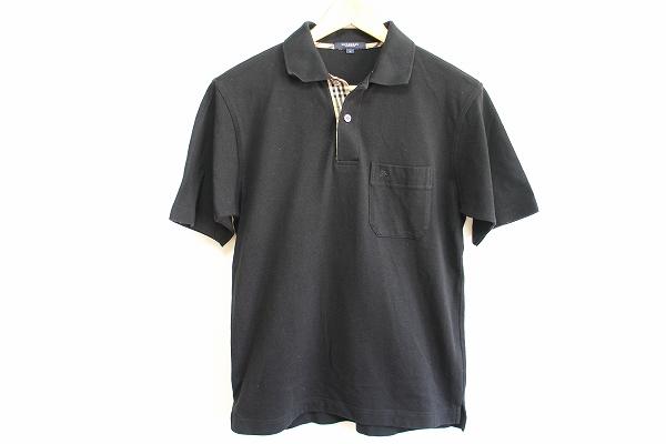 バーバリー 半袖刺繍ポロシャツ