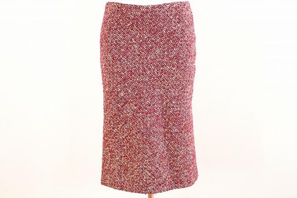デプレ ミックスツイードタイトスカート