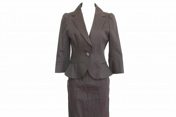 ダイアグラム スカートスーツ