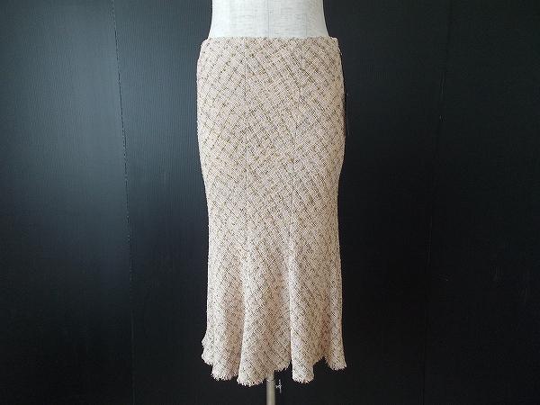 ヨーコドール ツイードスカート