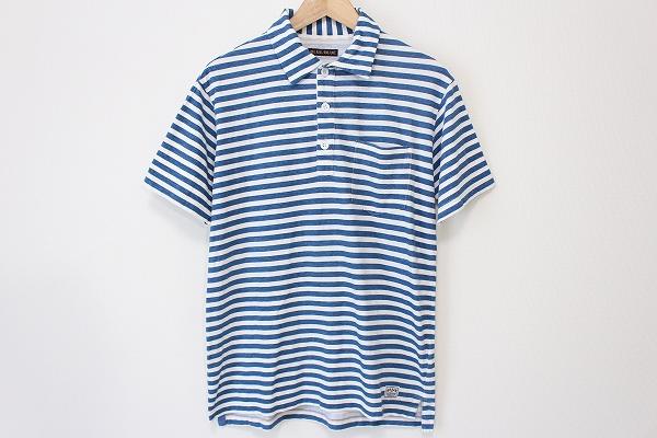 ブルーブルー 半袖ポロシャツ