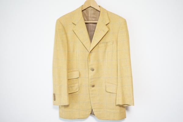 トゥモローランドロロピアーナ シングルボタンチェックジャケット