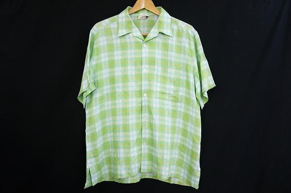 エルメス チェックシャツ