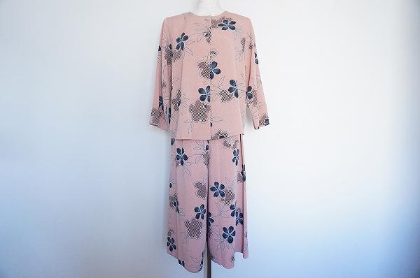 シセンドウ 花柄スカートスーツ