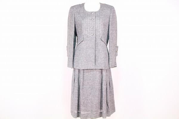 ジュンアシダ 麻スカートスーツ