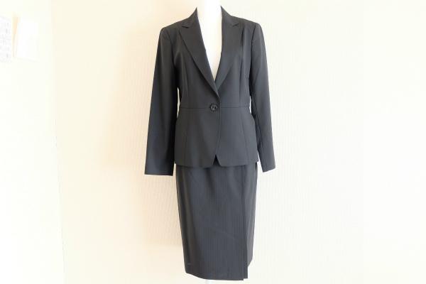 ニューヨーカー ストライプスカートスーツ