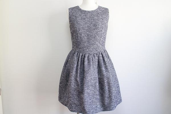 イチエストロベリーフィールズ チュール付きワンピースドレス
