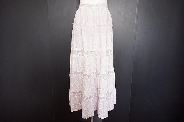 バラ色の暮らし レーススカート