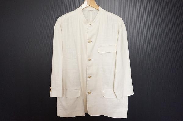 パパス 麻シングルスーツ