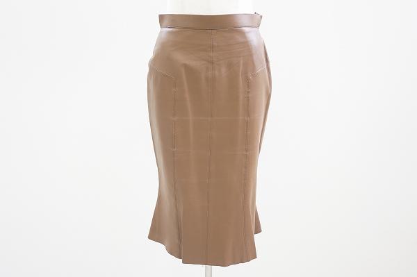 エポカ ラムレザースカート