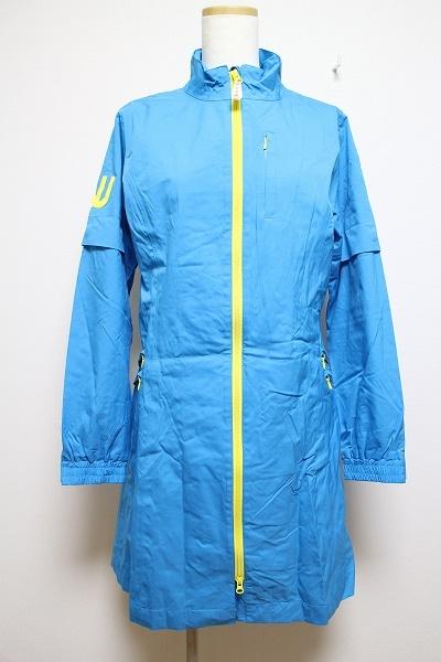 M.U.SPORTSミエコウエサコ 2wayナイロンジップジャケット