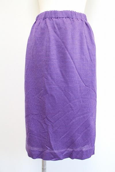 サイトウトヨコ ボーダーニットスカート