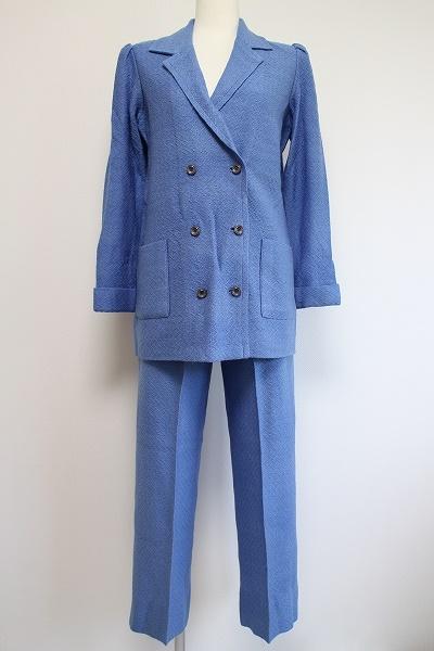 サイトウトヨコ ニットセットアップパンツスーツ