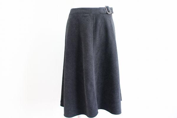 アンケート 飾りベルトAラインスカート