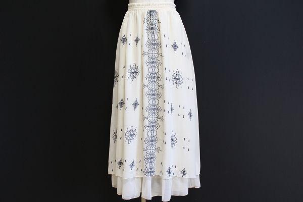 マーキュリーデュオ ギャザーロングスカート