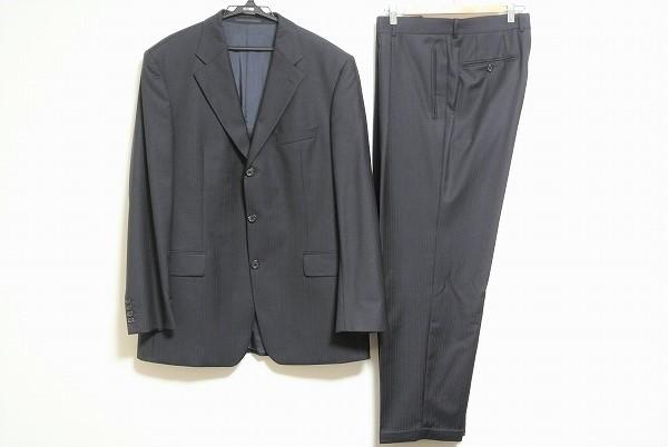 ヒューゴボス ストライプS3Bスーツ