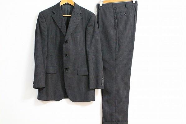 アクアスキュータム ストライプS3Bスーツ