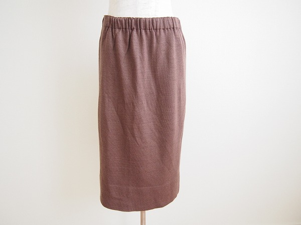 サイトウトヨコ ウエストゴムニットタイトスカート