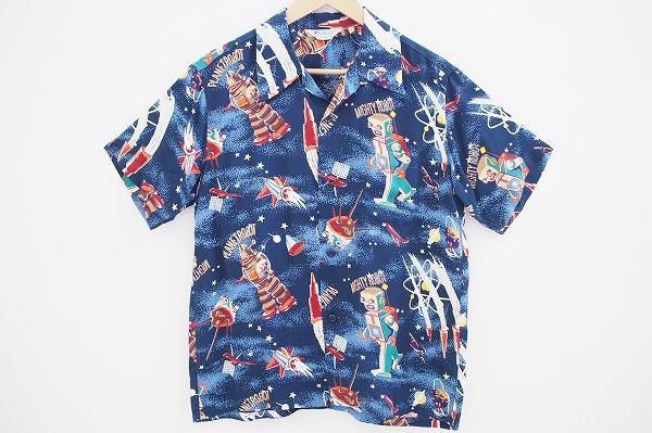 サンサーフ スペースロボットアロハシャツ