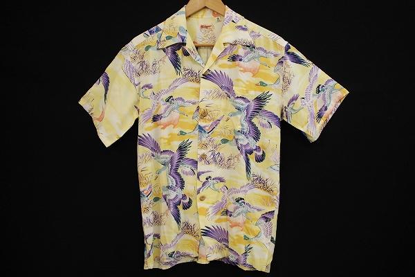 サンサーフ フロックオブワイルドギースアロハシャツ