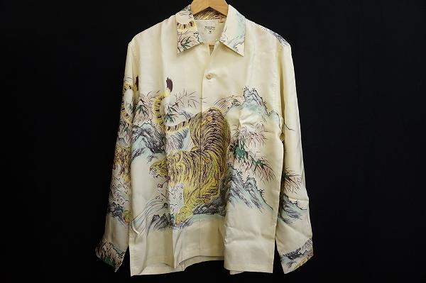 サンサーフ 笹虎アロハシャツ