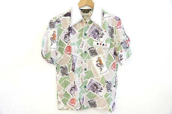 サンサーフスペシャルエディション NUDETRUMPSS37258アロハシャツ
