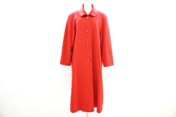 バルマン 丸襟ロングコート