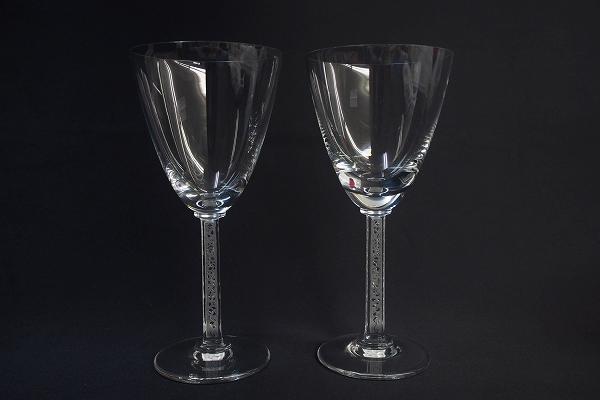 ラリック ファルスブールペアワイングラス