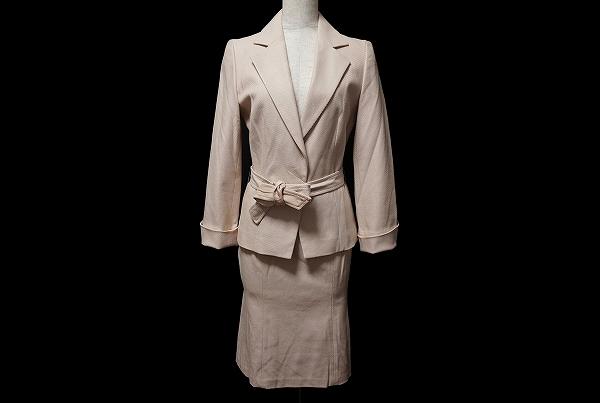 ロペ ウエストリボンスカートスーツ
