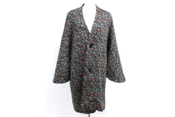 サイトウトヨコ 着物スリーブラメコーディガン