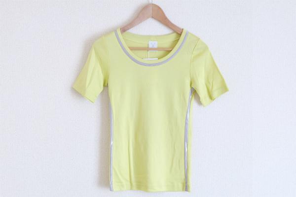 ププラ シルク混Tシャツ