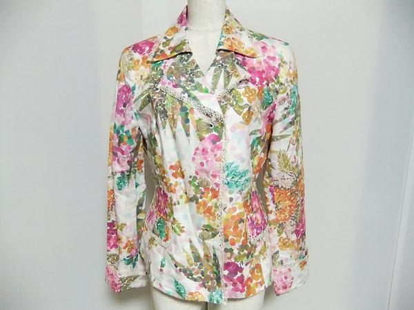 ノンノンドール 総花柄レース付きジャケット