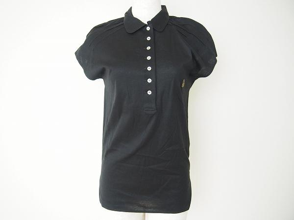 バレンザ タック付き半袖ポロシャツ