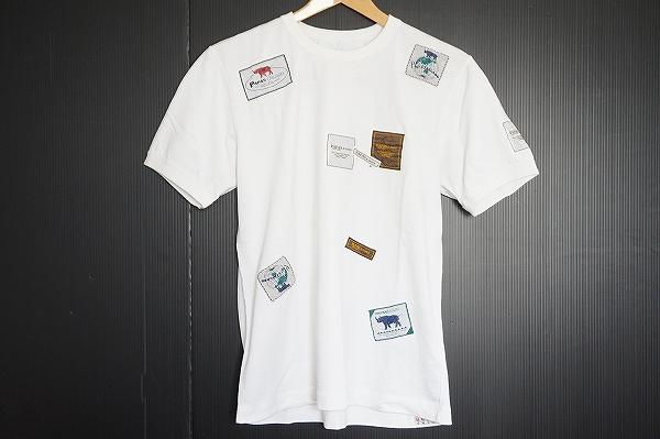 パパス 半袖コットンTシャツ