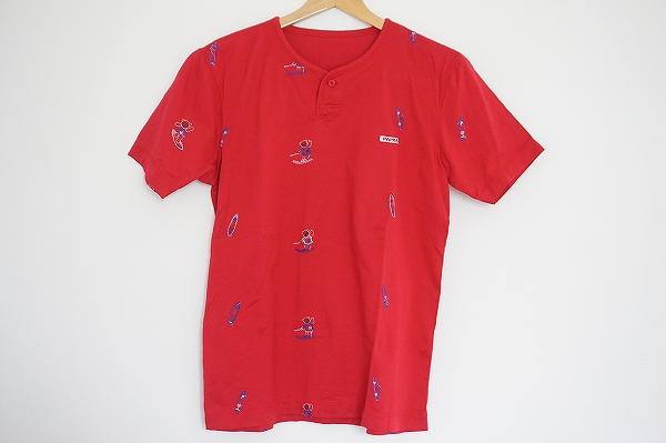 パパス クマ柄Tシャツ