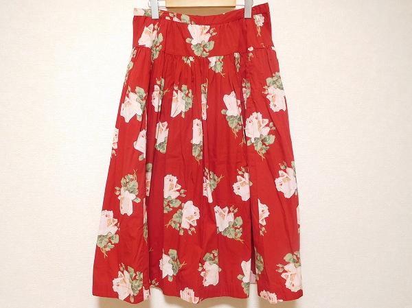 インゲボルグ 花柄スカート