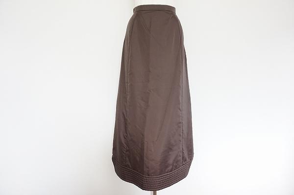 ヒロコビス ロングキルティングスカート