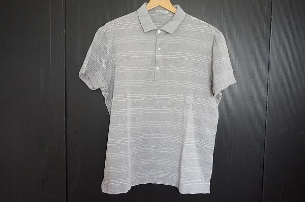 パパス コットン半袖ポロシャツ