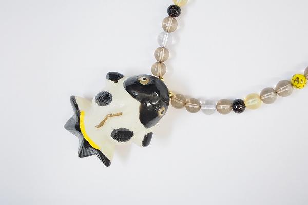 ワンダフルワールド 金魚ネックレス
