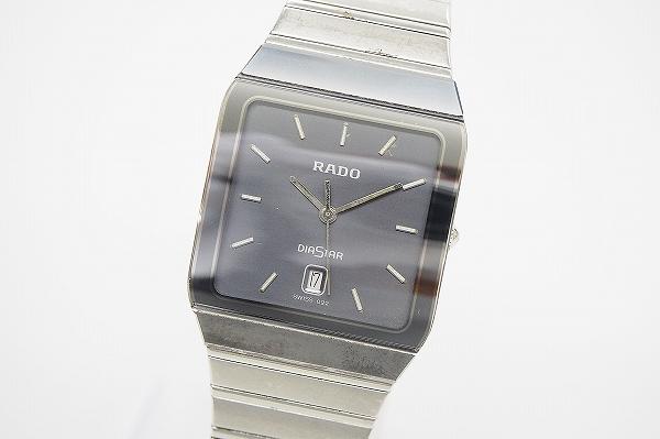 ラドー ダイアスタースクエアデイト129.0266.3腕時計